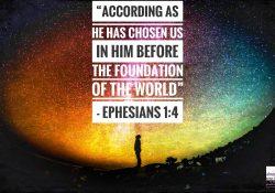 Ephesians 1:4