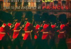 Psalms 118:8-9